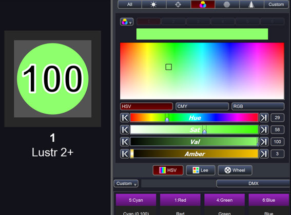 New colour engine and picker