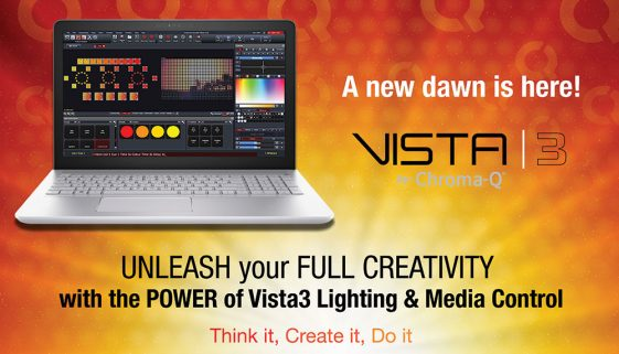 Chroma-Q has acquired Jands Vista software and hardware lighting control systems
