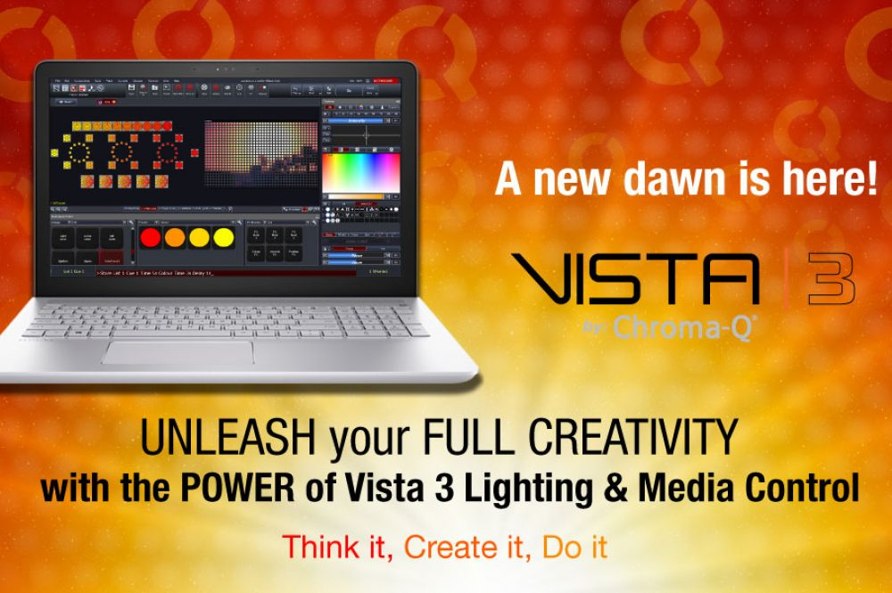 A New Dawn Arrives with the Worldwide Launch of Vista 3 by Chroma-Q