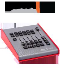 Vista by Chroma-Q MV control surface